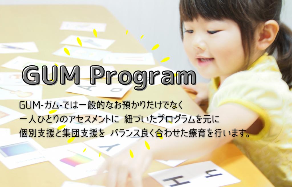 GUMのプログラム